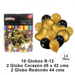 Globo Candy Gold